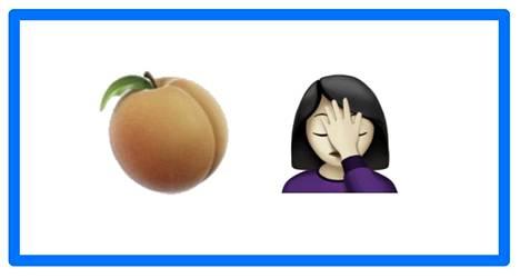 Uusi persikka ja uusi facepalm, jotenkin hyvä yhdistelmä.