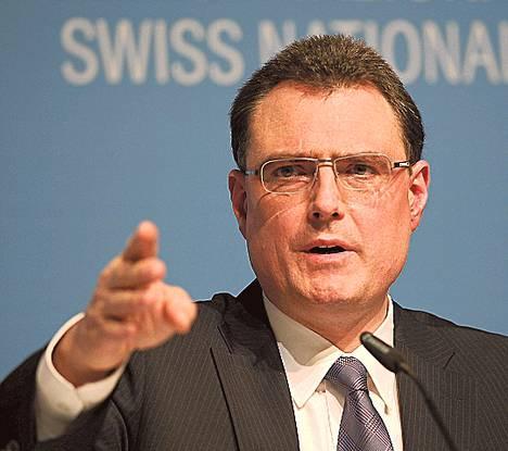 Thomas Jordan johtaa Sveitsin keskuspankkia.