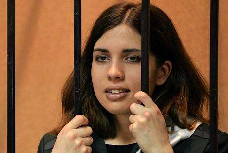 Venäjän viranomaisten mukaan Nadežda Tolokonnikova on kunnossa.