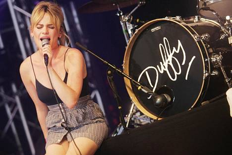 Duffy vuonna 2008 Roskilde-festivaaleilla Tanskassa.