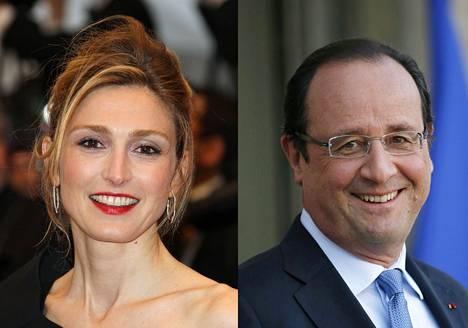 Julie Gayet ja François Hollande