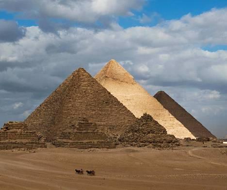 Gizan kuulut ja ikivanhat pyramidit muistuttavat, että nykyisen Egyptin alueella asuttiin jo kauan sitten.