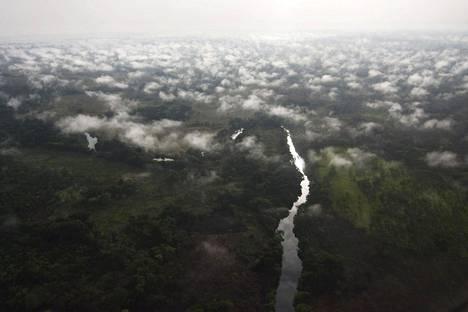 Garamban metsää Kongon demokraattisessa tasavallassa Ylä-Uelen maakunnassa.