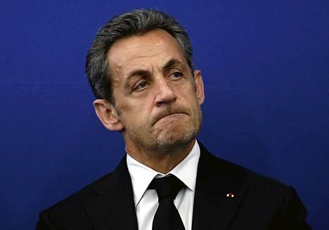 Ranskan ex-presidentti Nicolas Sarkozy.