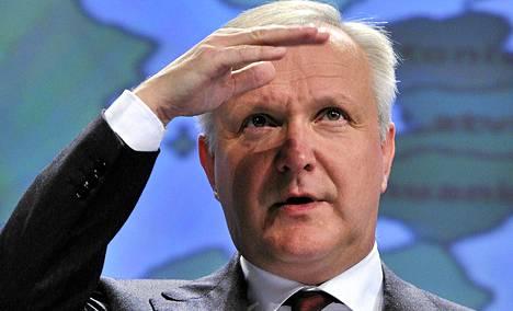 EU komissaari Olli Rehn.