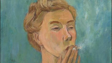 Tove Jansson: Tupakoiva tyttö, 1940.