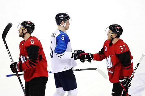 Suomi hävisi miesten jääkiekon puolivälieräottelun Kanadalle 0-1.