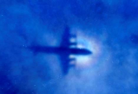 Uuden-Seelannin ilmavoimien lentokone etsi kadonnutta malesialaiskonetta maaliskuussa 2014 Intian valtamerellä.