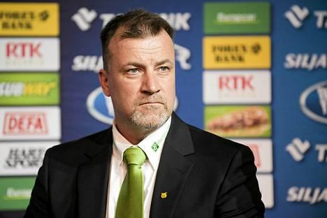 Juha Pajuoja on Turun Palloseuran uusi päävalmentaja.