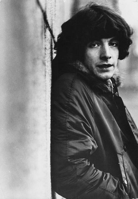 """Kirill """"Kirka"""" Babitzin vuonna 1968. Läpimurtohitti Hetki lyö oli ilmestynyt edellisenä vuonna."""