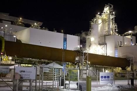 UPM Kaukaan tehdas Lappeenrannassa on yksi kahdestatoista paperi-, sellu- ja kartonkiteollisuuden tehtaasta, joita työsulku koskee.