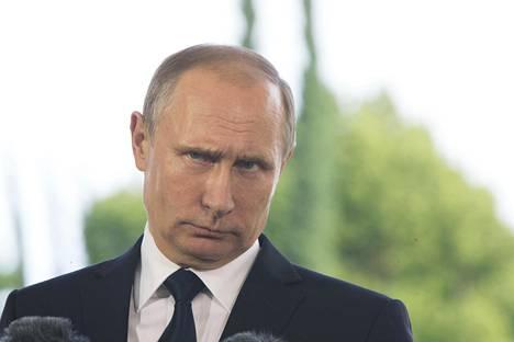 Vladimir Putin vieraili Suomessa heinäkuun alussa.