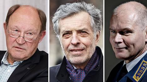 Juhani Kaskeala, Jan-Erik Enestam ja Jarmo Lindberg.