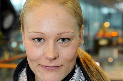 Anne Kyllösen isku oli kohdallaan Rukan maailmancupsprintissä.