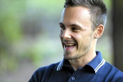 Jonathan Åstrandin reisi ei estä juoksemista pikaviestissä.