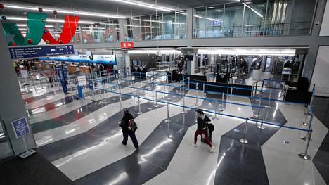 Chicagon O'Hare lentokenttä kuvattuna 25. marraskuuta, 2020.