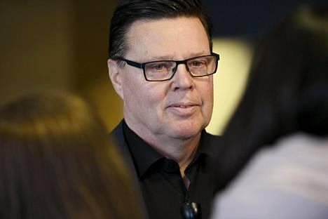 Helsingin huumepoliisin ex-päällikkö Jari Aarnio osallistui Helsingin käräjäoikeuden istuntoon keskiviikkona.