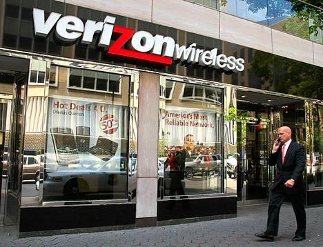 Verizon Wirelessin liike Washingtonissa.