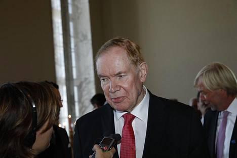 Paavo Lipponen syyskuussa 2019.