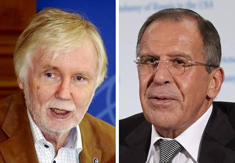 Erkki Tuomioja ja Sergei Lavrov