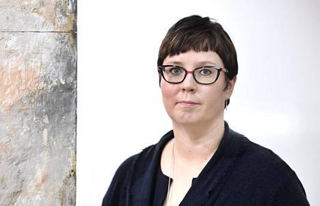 Vasemmistoliiton presidenttiehdokas Merja Kyllönen