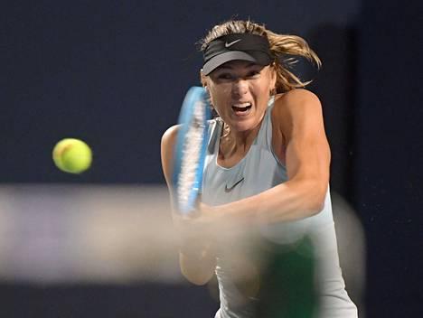 Viime vuoden syyskuussa Maria Šarapova osallistui Torontossa Rogers Cup-tennisturnaukseen.