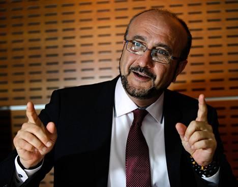 Noin puolet MSD:n kliinisistä lääketutkimuksista koskee erilaisia syöpäsairauksia, sanoo yhtiön Euroopan-tutkimuksista vastaava johtaja Hassan Ansari.