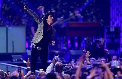 Green Day esiintyi 20. syyskuuta Las Vegasissa.