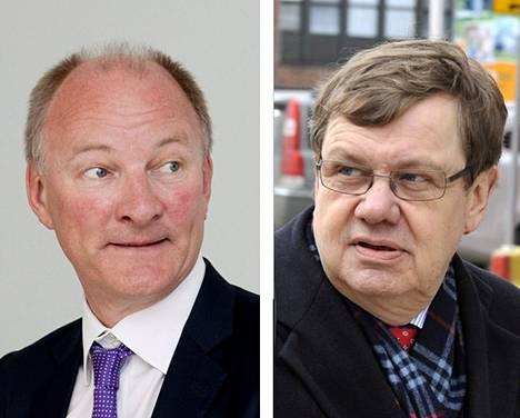 Mika Vehviläinen ja Christoffer Taxell