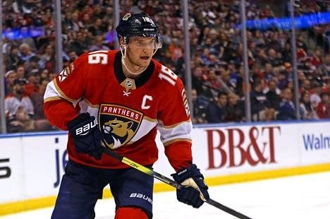 Florida Panthersin suomalaishyökkääjä, joukkueen kapteeni Aleksander Barkov sai alavartalovamman toisessa erässä ottelussa Montreal Canadiensia vastaan.