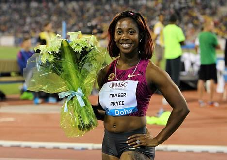 Shelly-Ann Fraser-Pryce on Bahaman kisojen kuumimpia nimiä.