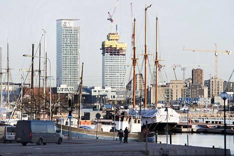 Kalasataman tornitalot ovat esimerkki viime aikojen korkeasta rakentamisesta.