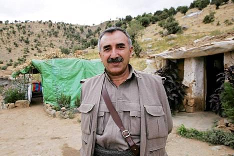 Murat Karayilan kuvattuna 2005 Irakin pohjoisosissa.