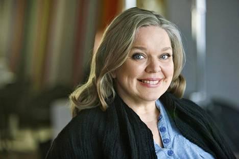 Enni Mustonen eli Kirsti Manninen vuonna 2011.