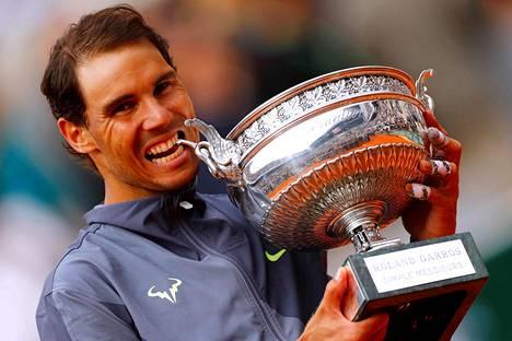 Rafael Nadal pelaa seuraavan kerran vasta Wimbledonissa heinäkuun alussa.