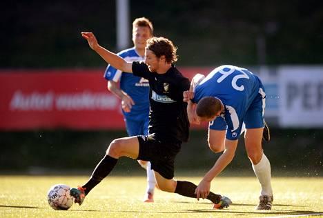 FC Honka pelasi Eurooppa-liigan otteluissa JK Sillamäe Kalevia vastaan saatuaan Uefa-lisenssin.