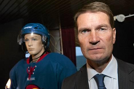 Erkka Westerlund ei ollut tyytyväinen joukkueensa peliin.