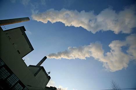 Inkoon hiilivoimalaitos tammikuussa 2006.