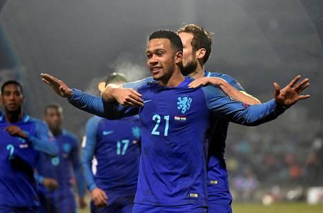 Marraskuussa 2016 Depay teki maalin Hollannin MM-karsintaottelussa Luxemburgia vastaan.