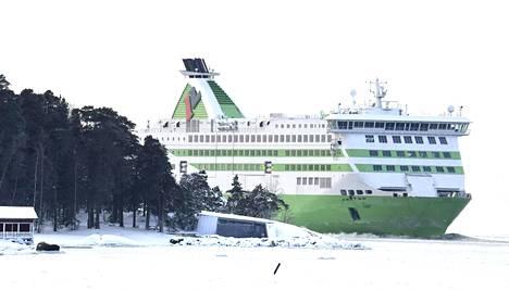 Tallink Star -alus saapuu Helsingin Länsisatamaan sunnuntaina 17. tammikuuta.