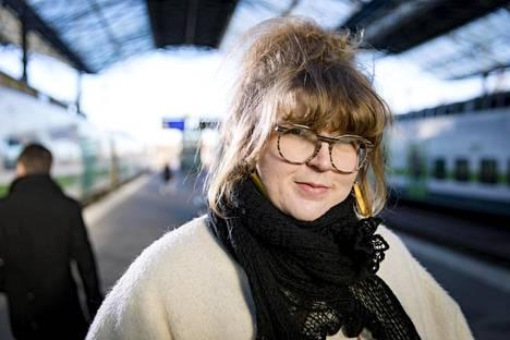 Petra Poutanen on työskennellyt vuosien ajan suuren projektinsa parissa.
