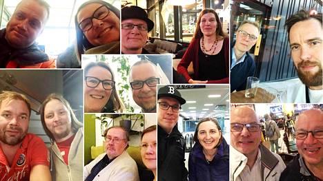 Lauantaina on järjestynyt lukuisia Suomi puhuu -tempauksen tapaamisia.