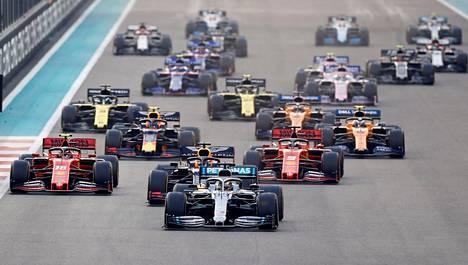 Viimeisin F1-osakilpailu on viime joulukuussa ajettu Abu Dhabin gp.