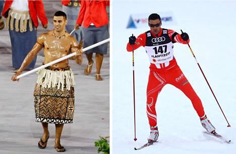 Pita Taufatofua kantoi Tongan lippua Rion olympialaisten avajaisissa 2016. Helmikuussa 2017 hän osallistui Lahden MM-kisojen karsintoihin.