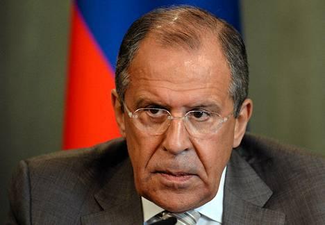 Venäjän ulkoministeri Sergei Lavrov