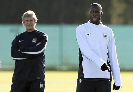 Manchester Cityn Yaya Toure joutui kaksi viikkoa sitten TsSKAn fanien rasististen pilkkahuutojen kohteeksi.