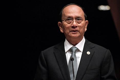 Myanmarin presidentti Thein Sein