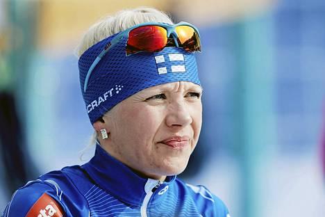 Kaisa Mäkäräinen valmistautuu uransa toisiin olympialaisiin.