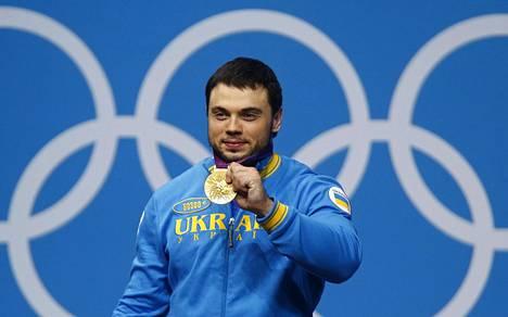 Painonnoston ukrainalainen olympiavoittaja Oleksi Toroh'ti menettää Lontoossa saamansa olympiakullan dopingkäryn vuoksi.