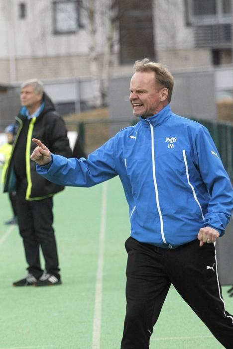 RoPS-valmentaja Juha Malinen on tyytyväinen joukkueensa tuoreeseen hankintaan.
